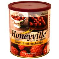 Freeze Dried Raspberries LARGE CAN