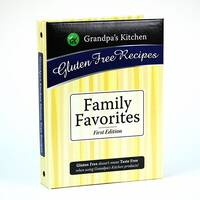 Grandpa s Kitchen   Gluten Free Recipe Cookbook